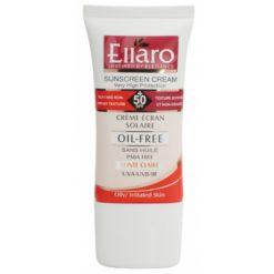 Ellaro Sun Cream SPF50 Oil Free Light Beige-600×400