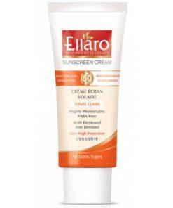 Ellaro Sun Cream SPF50 Tinted Clare-600×400