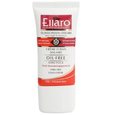 Ellaro Sun Cream SPF50 Tinted Fonce-600×400