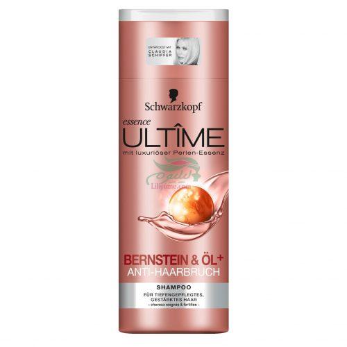 Schwarzkopf essence Ultime Bernstein+Öl Anti Haarbruch Shampoo