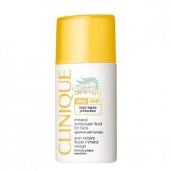 کرم ضد آفتاب SPF 30 برای پوست حساس کلینیک