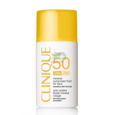کرم ضد آفتاب SPF 50 برای پوست حساس کلینیک