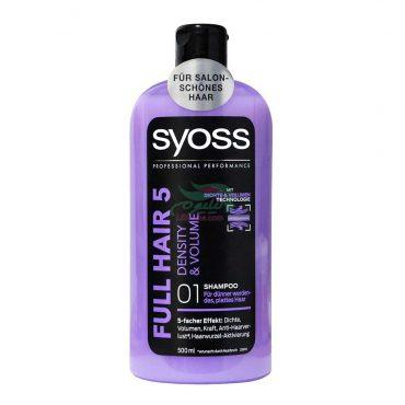 Syoss Full Hair 5 Shampoo Density & Volume