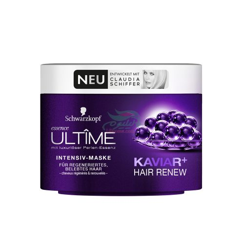 Schwarzkopf Essence Ultîme Caviar + Hair Renew Intensive Mask