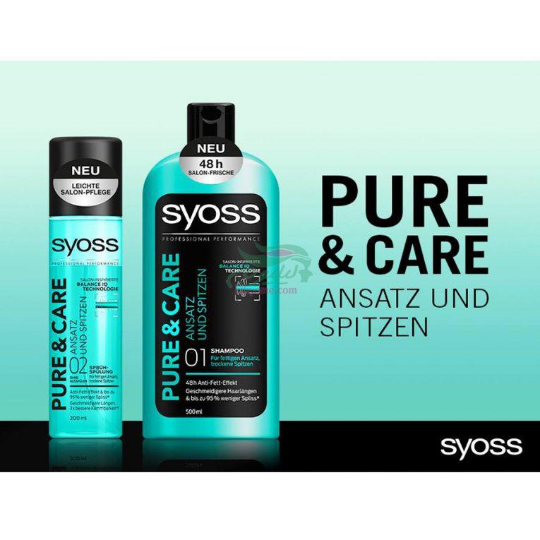 Schwarzkopf Pure & Care Shampoo