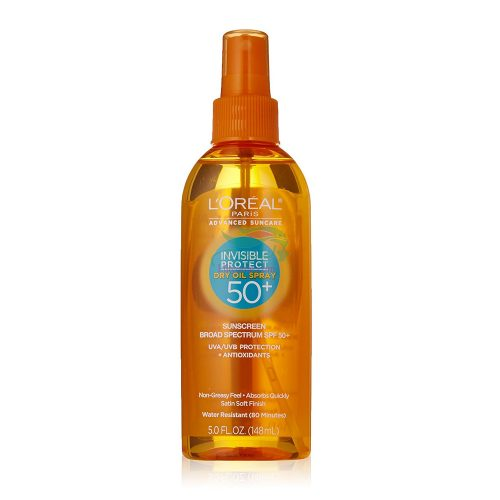 اسپری روغن ضد آفتاب SPF 50 لورال