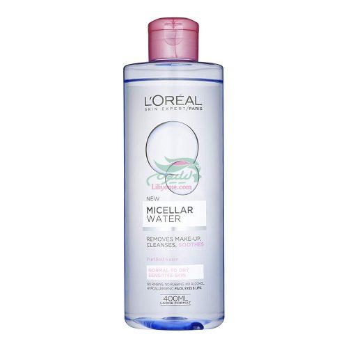 پاک کننده آرایش پوست معمولی و خشک لورال