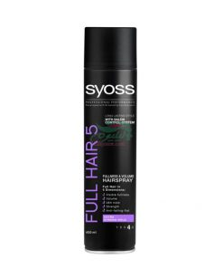 Syoss Full Hair 5 Fullness & Volume Hair Spray 400ml
