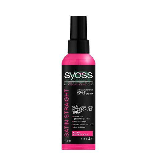 Syoss Hitzeschutz Spray Satin Straight Halt 4,150ml