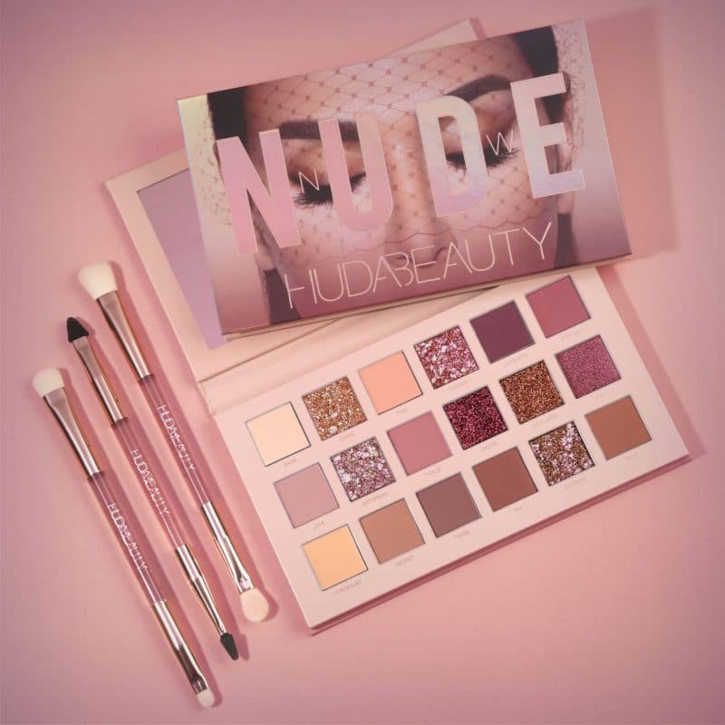 The New Eyeshadow Palette HUDA BEAUTY