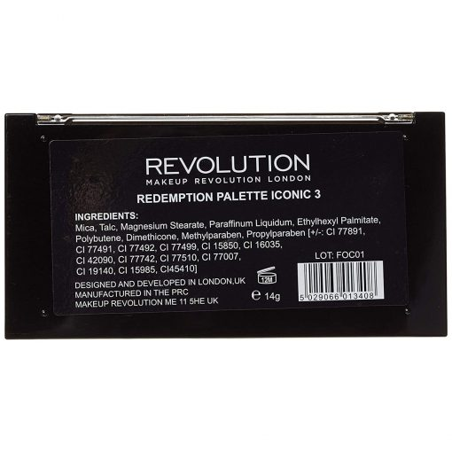 Revolution Iconic 3 Eye Shadow Palette