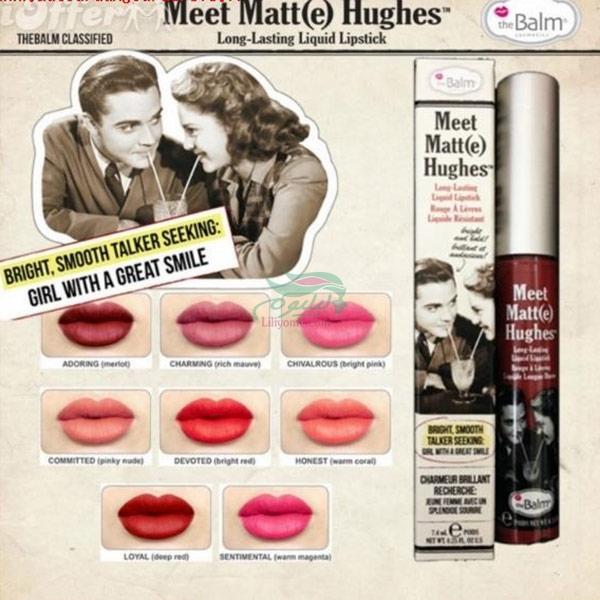 theBalm Liquid Lipstick