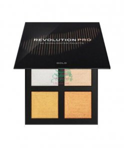 REVOLUTION-PRO-4K-Highlighter-Palette-Gold-min