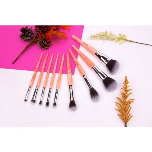 Bh-Cosmetics-Rose-Quartz-9-Piece-Brush-Set.-min