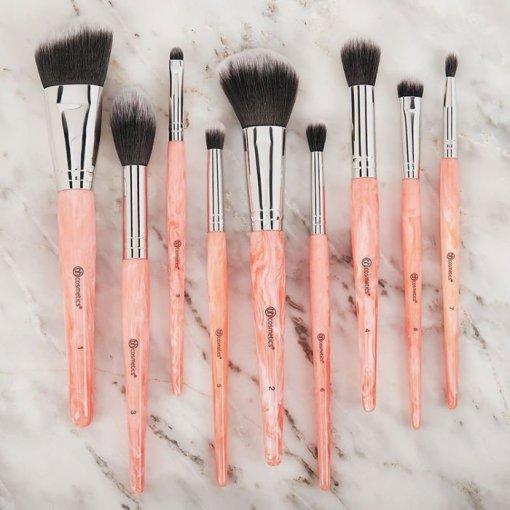 Bh-Cosmetics-Rose-Quartz-9-Piece-Brush-min
