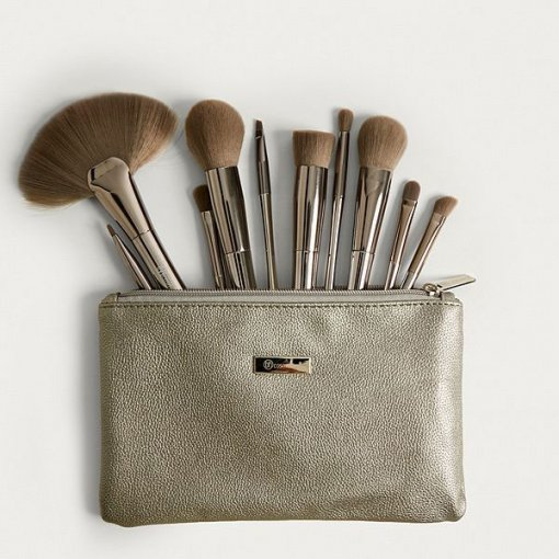 BH-COSMETICS-Smoke-n-Mirrors-Brush-Set-with-traveling-Pouch-min