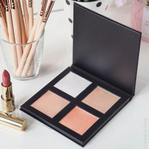 Makeup-Revolution-Pro-4K-Highlighter-Palette-Rose-Gold-min