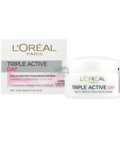 Loreal-Triple-Active-Day-Cream-For-Dry-Sensitive-Skin-min