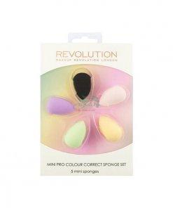 Makeup-Revolution-5-Mini-Pro-Colour-Correct-Sponge-Set-min
