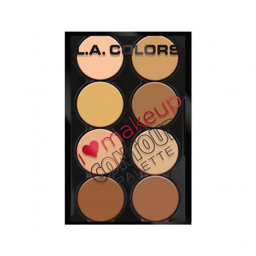 L.A.-Colors-I-Heart-Makeup-Contour-Palette-min