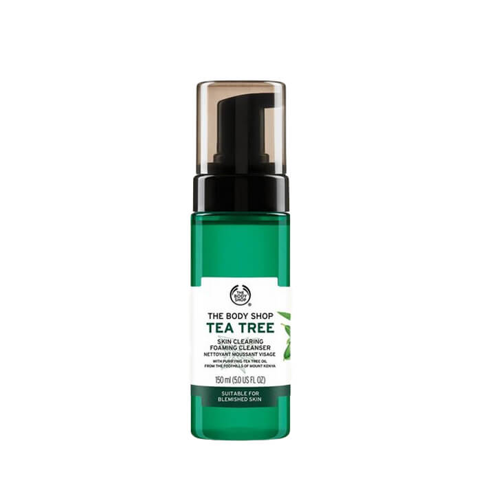 The-Body-Shop-Tea-Tree-Skin-Clearing-Foaming-Cleanser