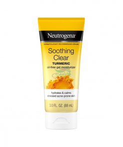 Neutrogena Soothing Clear Gel Facial Moisturizer with Calming Turmeric Hydrating Oil-Free Face Cream